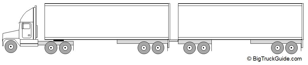 semi truck tractor trailer