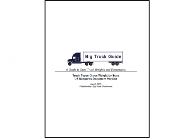 Truck Types by State PDF – $9.99